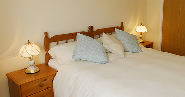 There are two double rooms available