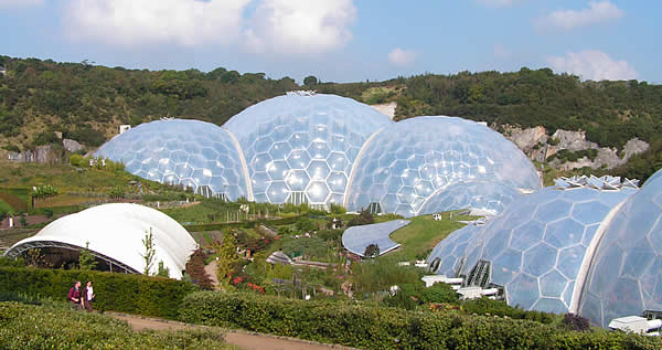 The famous Eden Project is within easy reach