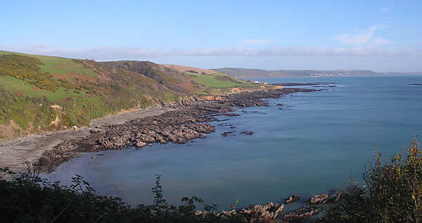 The South West Coast Path offers miles of scenic walks and can be joined at Looe